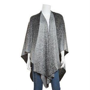 Calvin Klein Ombre Lurex shawl - Grey